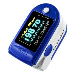 FaceLake 50DL Pulse Oximeter with Carrying Case
