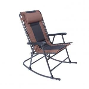 LUCKYBERRY Folding Rocking Chair