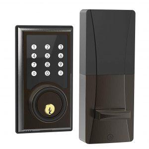 TURBOLOCK TL-201 21 Programmable Codes Electronic Keypad Deadbolt Entry Door Lock
