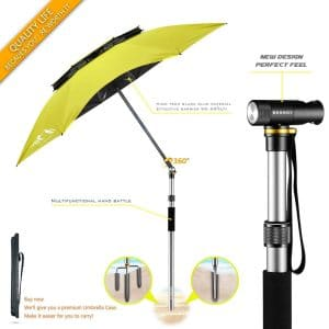 BESROY Portable Beach Umbrella