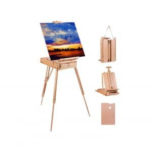 Louise Maelys Easel Stand Portable 72 Inches Tripod Easel
