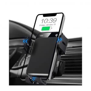 MOKPR Wireless Car Charger Auto Clamping Charger