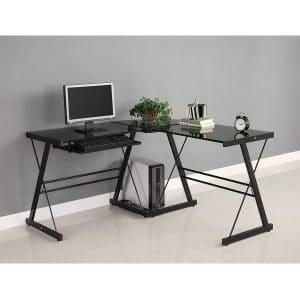 Walker Edison AZ51B29 Soreno Corner Desk