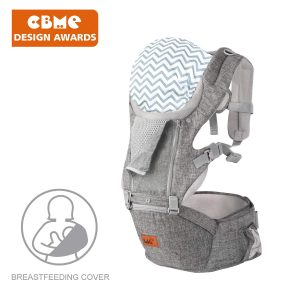 Bable Baby Carrier Hip Seat, 360 Ergonomic Baby Carrier with Breastfeeding