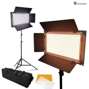 LimoStudio 2 Packs LED Video Light