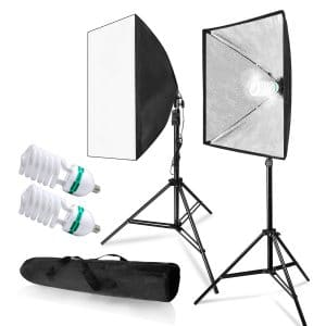 LimoStudio AGG814 700W Soft Box Lighting Kit