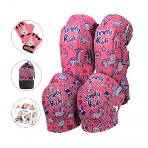 Simply Kids Innovative Soft Kids Knee and Elbow Pads