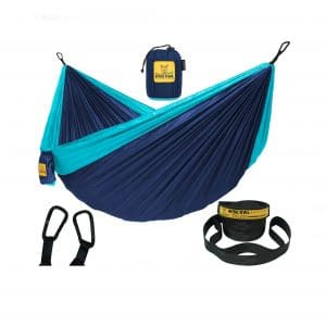Wise Owl Outfitters Double Hammock with Tree Straps