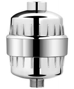AquaBliss High Output Shower Filter- Chrome (1 Pack)