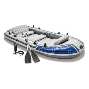 Intex Excursion 5, 5-Person Boat (Latest Model)