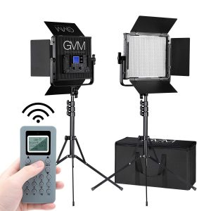 GVM 672S Master Series LED Video Light