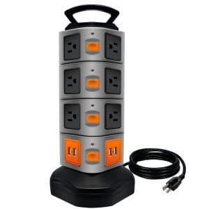 LOVIN PRODUCT Power Strip Tower