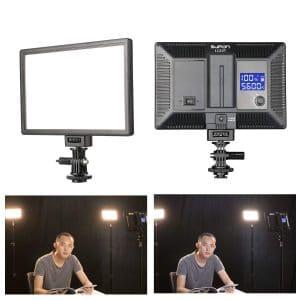 SUPON Slim LCD Display Video Lights