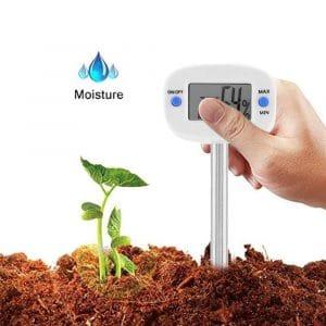 AUNMAS 2-In-1 Soil Hygrometer Plant Sensor