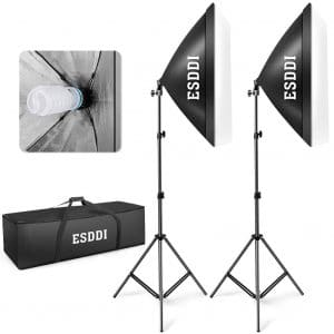 "ESDDI 20"" x 28""20""X28"" Softbox Lighting Kit"