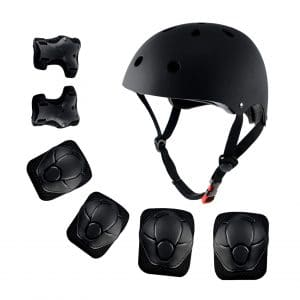 Shuangjishan Kids Sport Protective Gear Set Helmet and Pads