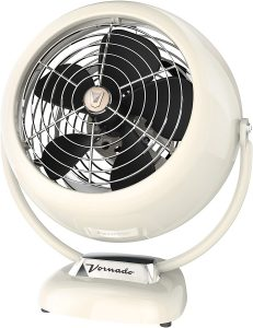 Vornado VFAN Vintage Air Circulator Fan Vintage White