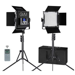 GVM 2-Pack LED Video Lighting Kit