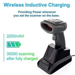 THARO Wireless 1D Barcode Scanner