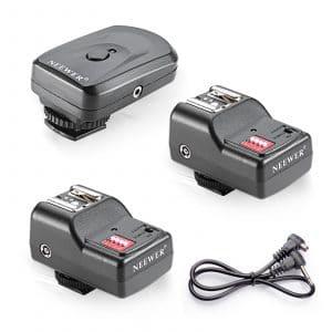 Neewer FM Flash Speedlite Wireless Remote 16 Channel Radio Trigger