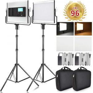 FOSTIAN LED Video Light 2 Packs