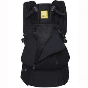 LÍLLÉbaby Complete All Seasons SIX-Position 360° Ergonomic Baby & Child Carrier, Black