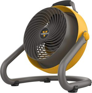Vornado 293 Large Heavy Duty Air Circulator Shop Fan, Yellow