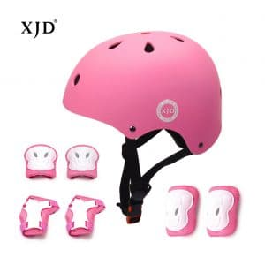 XJD Kids Helmet Sports Protective Gears Set with Pads