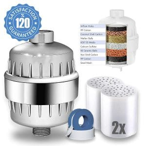 Captain Eco Shower Filter for Adult and Babies, Removes 99% Chlorine
