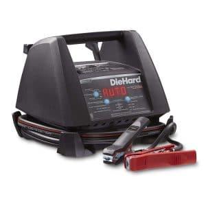 DieHard 71328 6:12V Platinum Shelf Smart Battery Charger and 15:125A Engine Starter