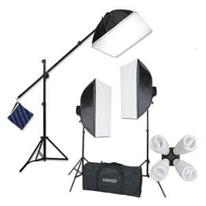 StudioFX H9004SB2 Continuous Photography Softbox Lighting Kit