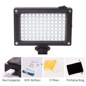 ULANZI Rechargeable 96 LED Video Light