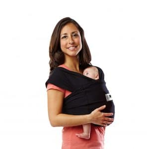 Baby K'tan Baby Carrier, Black, Small