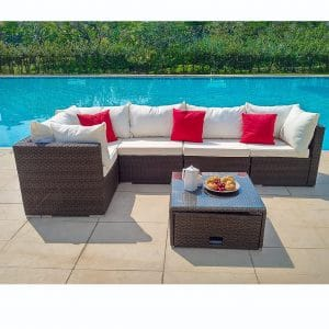 Outdoor International LLC. 6 Pieces Outdoor Patio Furniture Set