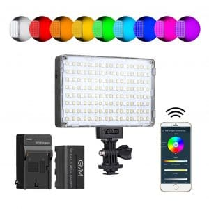 GVM RGB LED Video Light