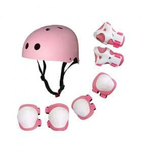 Lixada Children Protective Gear Set 7 In 1 Helmet