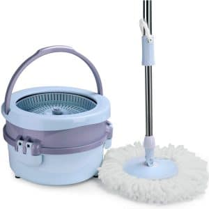 Aicehome Splash-proof Spin Bucket Mop