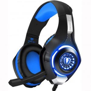 BlueFire Professional 3.5mm PS4 Gaming Headset Headphone with Mic and LED Lights for Playstation 4, Xbox one,Laptop, Computer