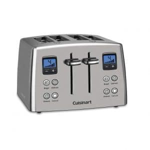 Cuisinart CPT-435 4-Slice Stainless Steel Countdown Toaster