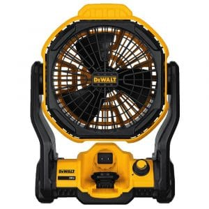 DEWALT Corded/Cordless Jobsite Fan, DCE511B