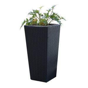 Pacific E-Commerce Tall Wicker Planter