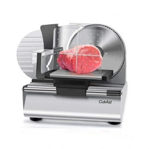 CukAid Electric Meat Slicer Machine Food Slicer