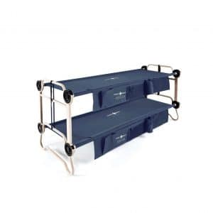 Disc-O-Bed Large Camping Cot with Organizer