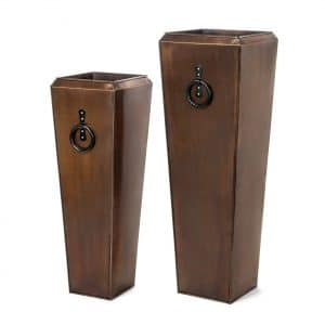 H Potter Tall Planter Set of Two