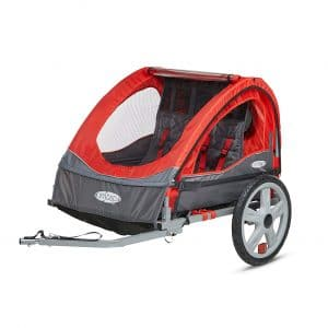 Instep Double Seat Foldable Cycle Child Trailer