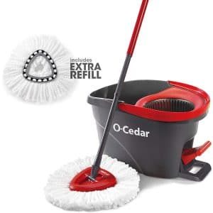 O-Cedar Easywring Bucket and Microfiber Spin Mop