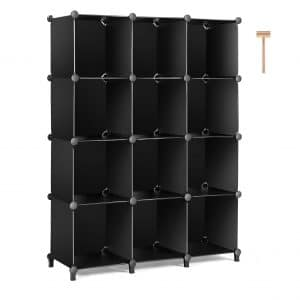 TomCare Cube Storage Bookshelf Closet 12-Cube Organizer