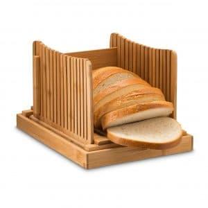 Bambusi Bamboo Bread Cutter