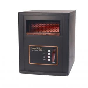 EdenPURE 1500-Watt Portable Heater, Remote Controlled