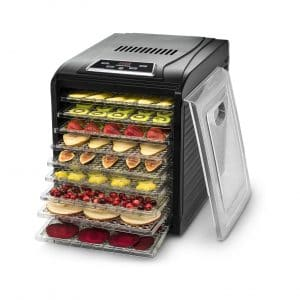 Gourmia GFD1950 Countertop Food Dehydrator with Free Recipe Book